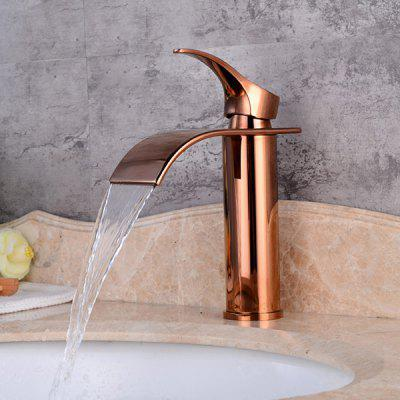 LING HAO HL - 192 Short Gourd Waterfall Bathroom Faucet