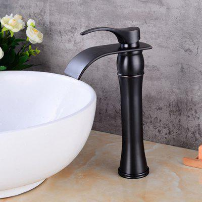 LING HAO HL - 848 Natural Curved Waterfall Basin Faucet