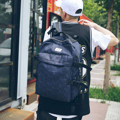 Fashion Durable Printed Nylon Backpack