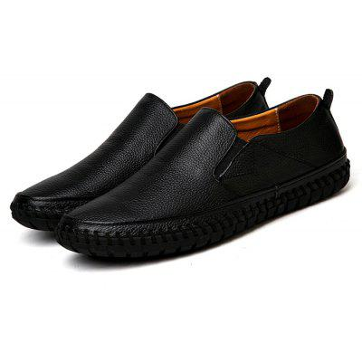 Male Plus Size Soft Flat Casual Loafer Oxford Shoes