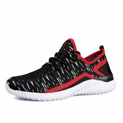 Men Breathable Leight Weight Athletic Shoes