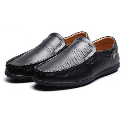Male Soft Manual Slip On Casual Doug Oxford Shoes