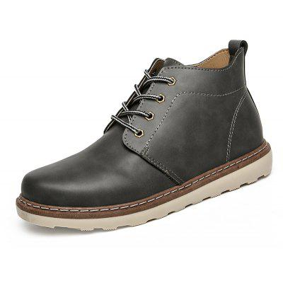 Fashion Breathable Lace-up Martin Boots for MenMens Boots<br>Fashion Breathable Lace-up Martin Boots for Men<br><br>Closure Type: Lace-Up<br>Contents: 1 x Pair of Boots<br>Function: Slip Resistant<br>Materials: Leather, Rubber<br>Occasion: Daily, Casual<br>Outsole Material: Rubber<br>Package Size ( L x W x H ): 33.00 x 24.00 x 13.00 cm / 12.99 x 9.45 x 5.12 inches<br>Pattern Type: Solid<br>Seasons: Autumn,Winter<br>Style: Comfortable, Casual<br>Type: Boots<br>Upper Material: Leather