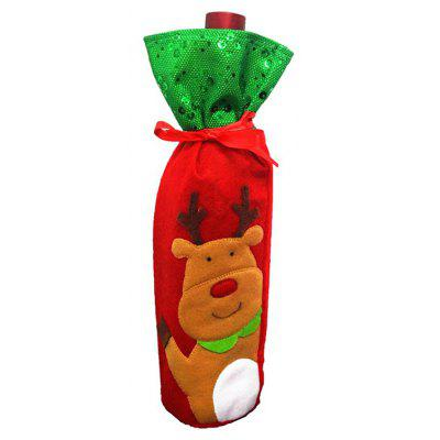 Macroart px - 138 - 3 Christmas Wine Bottle Bag