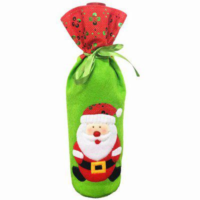 Macroart px - 138 - 1 Santa Claus Wine Bottle Bag