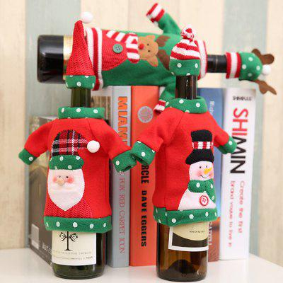 Macroart px - 137 Christmas Bottle Bag 3PCSChristmas Supplies<br>Macroart px - 137 Christmas Bottle Bag 3PCS<br><br>Brand: Macroart<br>For: All<br>Material: Nonwoven<br>Package Contents: 3 x Bottle Bag<br>Package size (L x W x H): 12.00 x 7.00 x 4.00 cm / 4.72 x 2.76 x 1.57 inches<br>Package weight: 0.0950 kg<br>Product weight: 0.0750 kg<br>Usage: Christmas