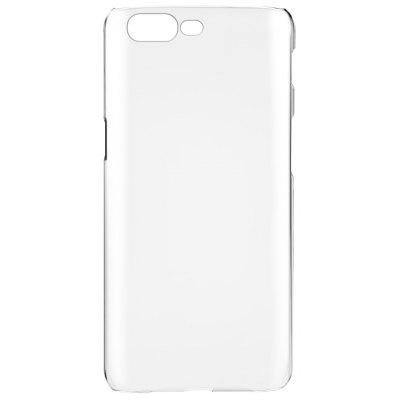 Luanke Transparent PC Hard Phone Case Cover for OnePlus 5