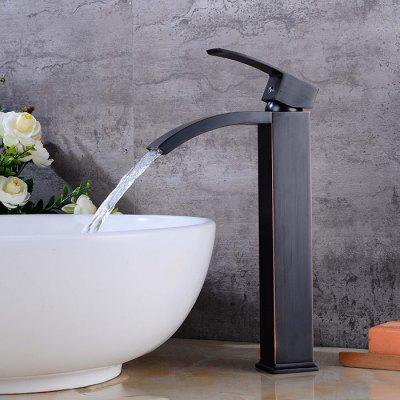 LING HAO Waterfall Design Bathroom Faucet