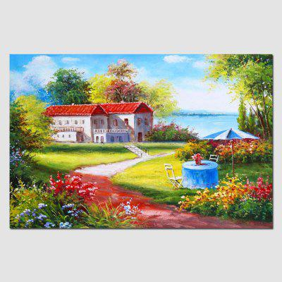 HuaTuo Villa Hand Painted Oil Painting