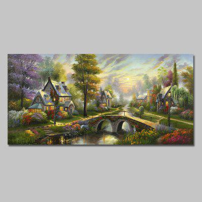Mintura HY150116 Country Scenery Unframed Canvas Print