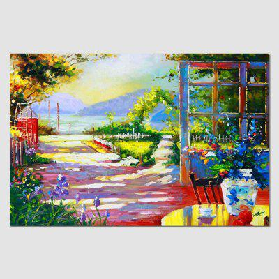 HuaTuo Colorful Footpath Hand Painted Oil Painting