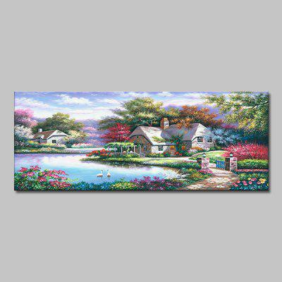 Mintura Idyllic Scenery Wall Decor Print for Home Decoration