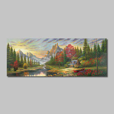 Mintura Canvas Mountains Scenery Wall Decor Home Decoration Print