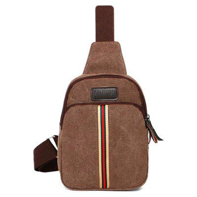 Canvas Cross-body Chest Bag Leisure Handbag for Men
