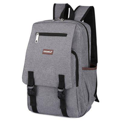 Buy GRAY Multifunctional Classic Style Leisure Backpack Schoolbag for $15.74 in GearBest store