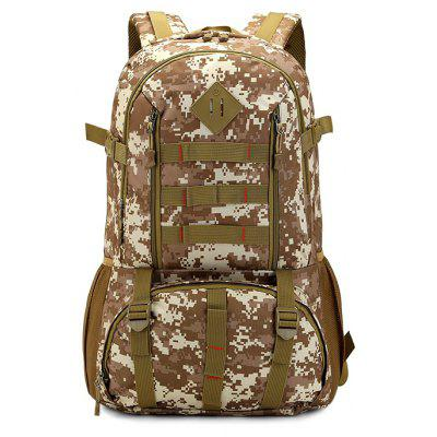 50L Large Capacity Durable Nylon Camouflage Backpack
