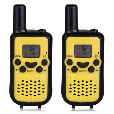 T669 Multifunctional Walkie Talkie Kids Toy 2PCS