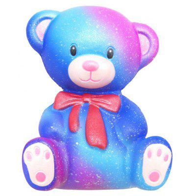 Squishy Bear Toys : Lovely Galaxy Style Bear Pattern Jumbo Squishy Toy -  USD0 Online Shopping GearBest.com