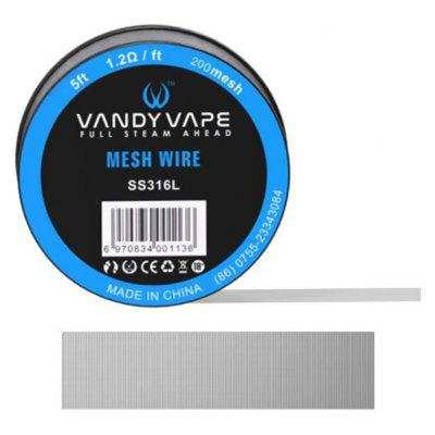 Vandy Vape SS316L Mesh Wire Spool with 5 Feet