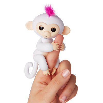 Fingerlings Baby Monkey Mini Smart Sensor Finger ToyNovelty Toys<br>Fingerlings Baby Monkey Mini Smart Sensor Finger Toy<br><br>Features: Battery Operated, Creative Toy<br>Materials: ABS<br>Package Contents: 1 x Monkey Fingerling Toy<br>Package size: 15.00 x 5.20 x 22.50 cm / 5.91 x 2.05 x 8.86 inches<br>Package weight: 0.1500 kg<br>Product size: 7.50 x 6.80 x 14.00 cm / 2.95 x 2.68 x 5.51 inches<br>Product weight: 0.1100 kg<br>Series: Entertainment,Fashion<br>Theme: Animals