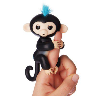 Fingerlings Baby Monkey Mini Smart Sensor Finger ToyNovelty Toys<br>Fingerlings Baby Monkey Mini Smart Sensor Finger Toy<br><br>Features: Creative Toy, Battery Operated<br>Materials: ABS<br>Package Contents: 1 x Monkey Fingerling Toy, 1 x Monkey Fingerling Toy<br>Package size: 15.00 x 5.20 x 22.50 cm / 5.91 x 2.05 x 8.86 inches, 15.00 x 5.20 x 22.50 cm / 5.91 x 2.05 x 8.86 inches<br>Package weight: 0.1500 kg<br>Product size: 7.50 x 6.80 x 14.00 cm / 2.95 x 2.68 x 5.51 inches, 7.50 x 6.80 x 14.00 cm / 2.95 x 2.68 x 5.51 inches<br>Product weight: 0.1100 kg<br>Series: Entertainment,Fashion<br>Theme: Animals