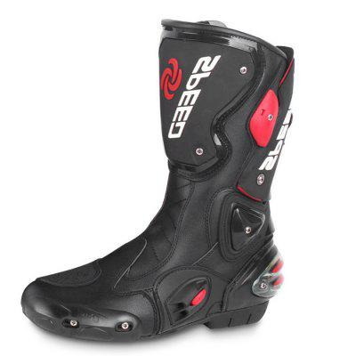 PROBIKER B1001 Long Protective Motorcycle Racing BootsOther  Motorcycle Accessories<br>PROBIKER B1001 Long Protective Motorcycle Racing Boots<br><br>Accessories type: Motorcycle Shoes<br>Available Size: US8.5 - 13<br>Boot Height: Mid-Calf<br>Gender: Men<br>Package Contents: 1 x Pair of Boots<br>Package size (L x W x H): 55.00 x 50.00 x 13.00 cm / 21.65 x 19.69 x 5.12 inches<br>Package weight: 2.3000 kg<br>Product weight: 2.2000 kg<br>Size: US13