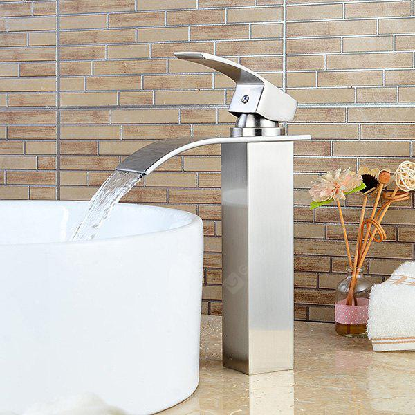 LING HAO HL - 852 Contemporary Waterfall Basin Faucet