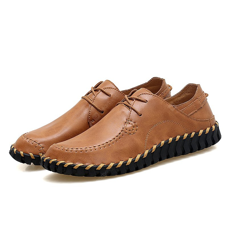 Chaussures à lacets Oxford Soft Stitching Oxford