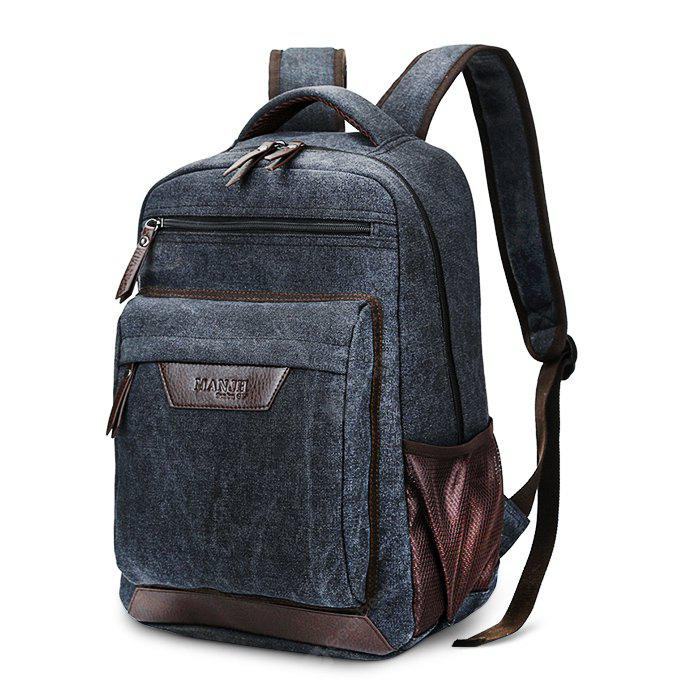 Men Durable Multifunctional Canvas Backpack