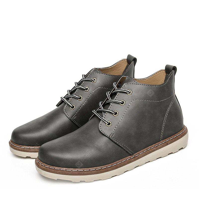 Fashion Breathable Lace-up Martin Boots for Men