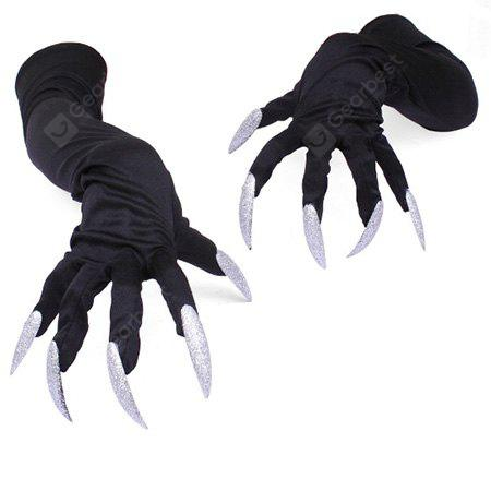 Halloween Decorative Long Gloves with Fingernails