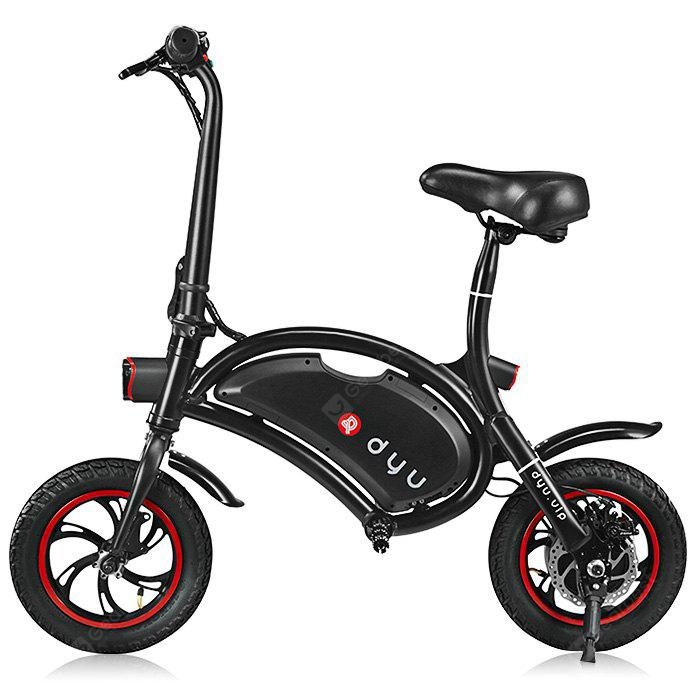 F wheel DYU D1 12 pouces 10Ah Folding Electric Bike Deluxe