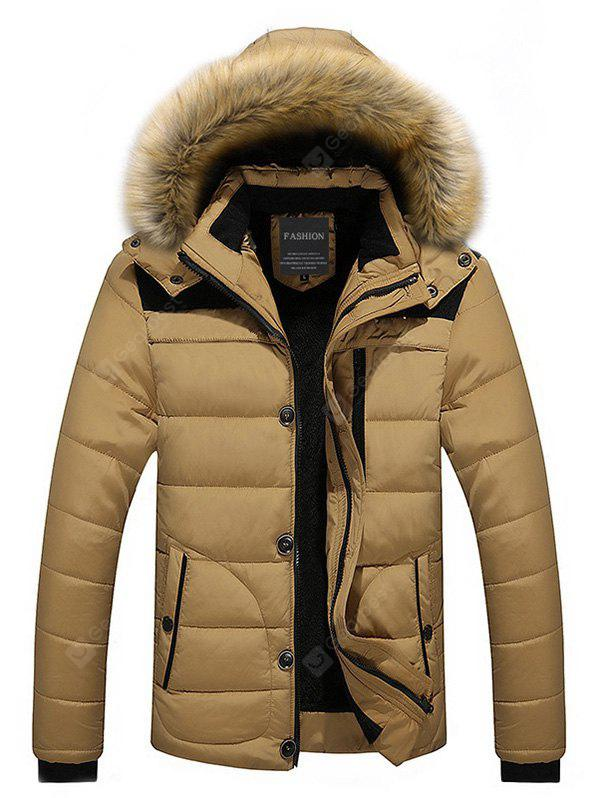 Classic Padded Winter Jacket with Hood