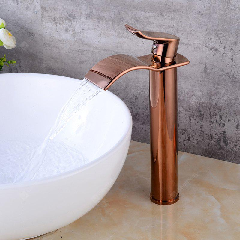 LING HAO HL - 190 Lifting Type Waterfall Basin Faucet