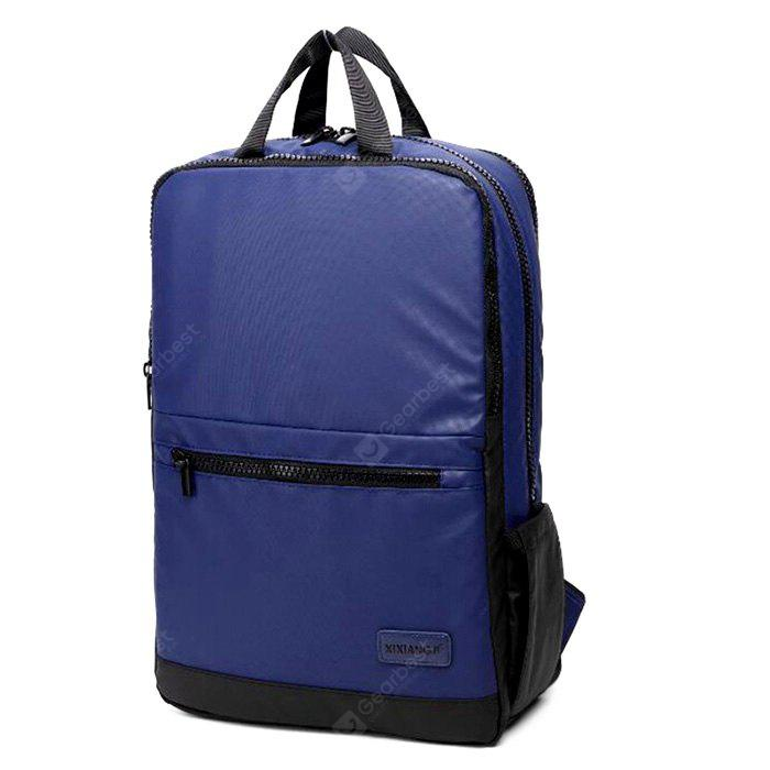 BLUE AND BLACK Multifunctional Classic Business Backpack Laptop Bag