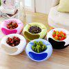 Mobile Stand Dual Layer Snacks Storage Box Support for iPhone - GREEN