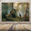 Mintura HY150109 Brown Bears Unframed Decorative Canvas Print - COLORMIX
