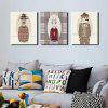 Colourful Cool Style Animals Wall Decor Print - COLORMIX