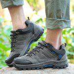 Male Fashion Cozy Outdoor Hiking / Climbing Shoes - GRAY