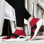 Comfortable Slip-on Casual Sports Shoes for Men - RED