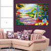 HuaTuo Colorful Footpath Hand Painted Oil Painting - COLORMIX