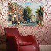 HuaTuo Western Style Street View Hand Painted Oil Painting - COLORMIX