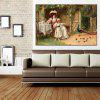HuaTuo Farm Courtyard Hand Painted Oil Painting - COLORMIX