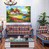 HuaTuo Villa Hand Painted Oil Painting - COLORMIX
