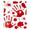 Bloody Handprint Bloodstains Decals - ROSSO