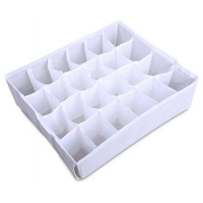 GANJOY Non-woven Storage Bag Organizer with 24 Pockets