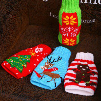 Home Decor Christmas Ornaments Beer Bottle CoverChristmas Supplies<br>Home Decor Christmas Ornaments Beer Bottle Cover<br><br>Package Contents: 1 x Beer Bottle Cover<br>Package size (L x W x H): 8.00 x 17.00 x 1.50 cm / 3.15 x 6.69 x 0.59 inches<br>Package weight: 0.0220 kg<br>Product size (L x W x H): 7.00 x 15.50 x 1.00 cm / 2.76 x 6.1 x 0.39 inches<br>Product weight: 0.0200 kg<br>Usage: Christmas
