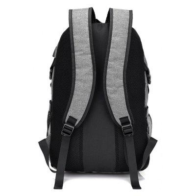 Men Casual Durable Canvas Backpack with USB PortBackpacks<br>Men Casual Durable Canvas Backpack with USB Port<br><br>Features: Wearable<br>Gender: Men<br>Material: Canvas<br>Package Size(L x W x H): 32.00 x 2.00 x 50.00 cm / 12.6 x 0.79 x 19.69 inches<br>Package weight: 0.6810 kg<br>Packing List: 1 x Backpack<br>Product weight: 0.6300 kg<br>Style: Fashion, Casual<br>Type: Backpacks