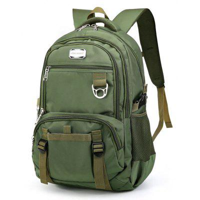 Buy GREEN Men Trendy Large Capacity Water-resistant Laptop Backpack for $34.43 in GearBest store