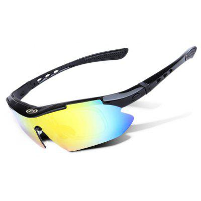 Buy BLACK OBAOLAY 0868 Windproof Protective PC Lens Cycling Glasses for $13.45 in GearBest store